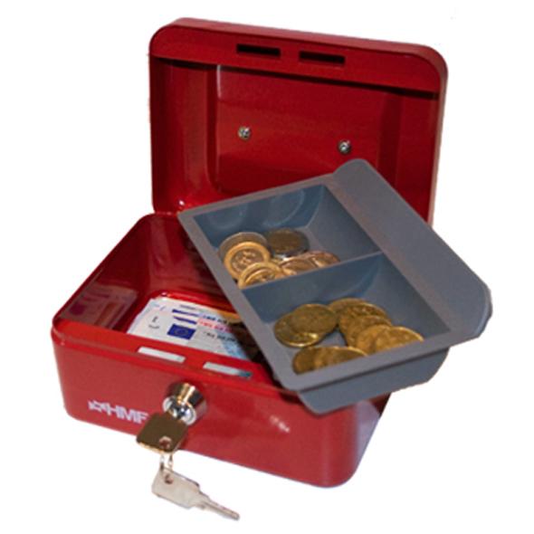 Geldkassette - 15 cm - Rot